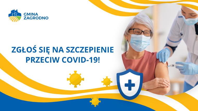 Komunikat: Zgłoś się na szczepienie przeciw COVID-19