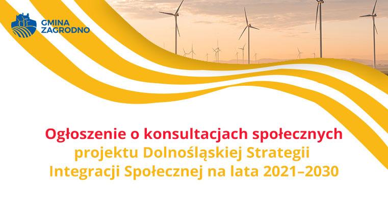 Ogłoszenie o konsultacjach społecznych projektu Dolnośląskiej Strategii Integracji Społecznej na lata 2021–2030