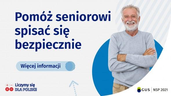 Pomóż seniorowi spisać sie bezpiecznie